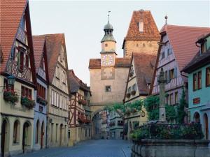 Типичный город Западной Европы