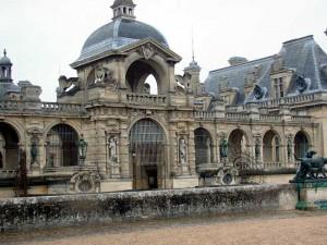 Замок Шантийи возле Парижа