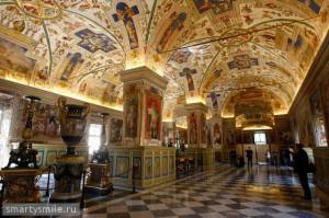Сикстинский зал Ватиканской апостольской библиотеки