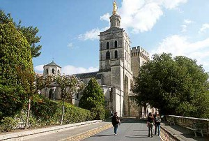 собор Нотр-Дам-Де-Дом - достопримечательность Авиньона