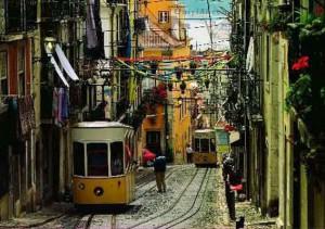 район Байро Альто в Лиссабоне