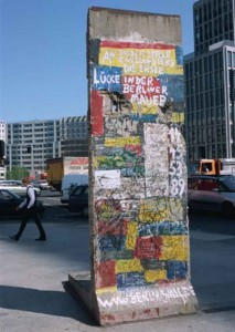 остатки берлинской стены