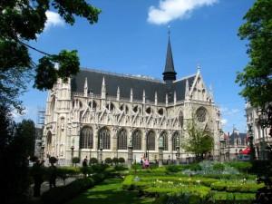 один из районов Брюсселя