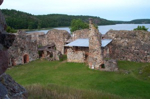 руины крепости Стегеборг, 13 век