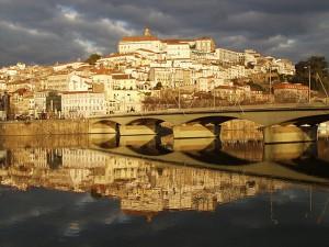 город Куимбр, Португалия