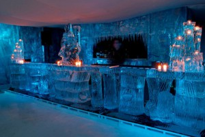 Pop-up Ice Bar в Ливерпуле