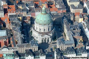 Церковь Фредерика или Мраморная церковь в Копенгагене