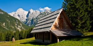 отдых в Словении, в долине реки Сока