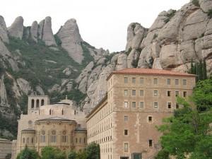 Гора Монтсеррат в Каталонии