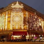 Новогодняя атмосфера Парижа
