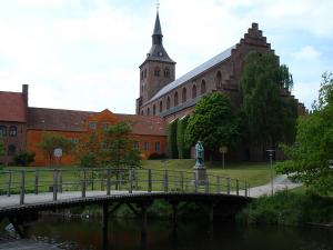 Оденсе - третий по величине город Дании
