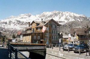 Андерматт - курорт Швейцарии
