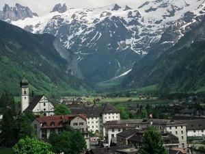 Энгельберг один из самых старейших курортов Швейцарии