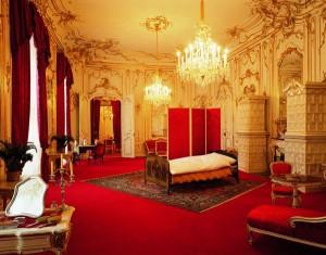 Внутри дворца Хофбург