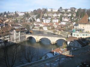 мост Нидеггбрюкке в Берне