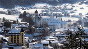 курорт Энгельберг в Швейцарии