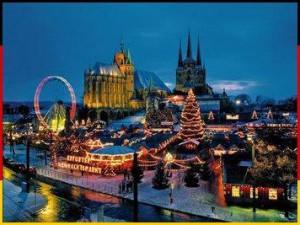 Эрфурт зимой